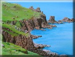 landscape and seascape paintings by Pat Harrison